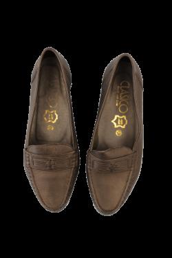 Black vintage loafers