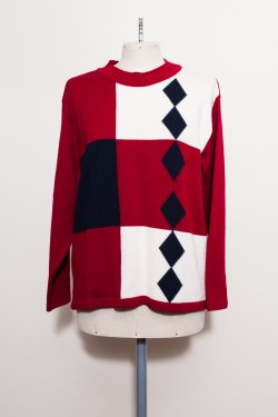 Norwegian Knitted Sweater