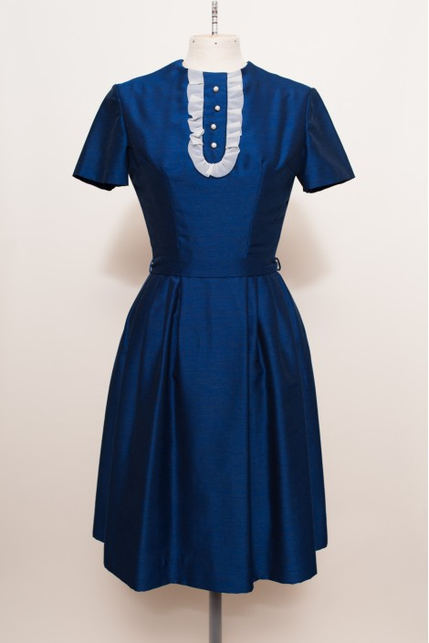 Dark blue vintage dress