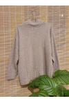Striped pure cashmere sweater