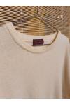 Pure merino sleeveless sweater