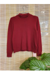 Pure cashmere embroidery sweater