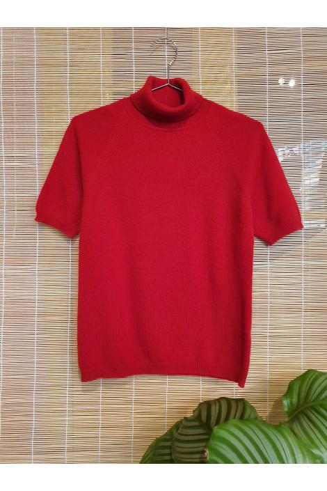 Pure cashmere blouse
