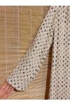 Pure wool shift dress