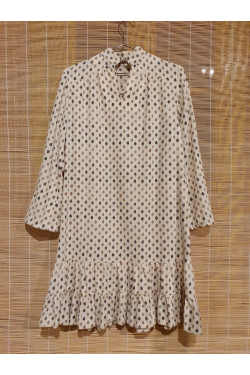 Pure wool shift dress